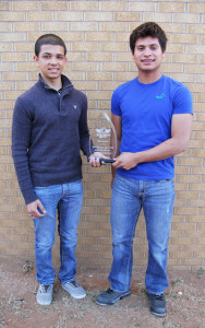 Eddie Hernandez and Abel Portales - Honorable Mention